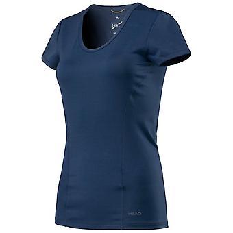 Cabeça de visão senhoras t-shirt 814337 azul escuro