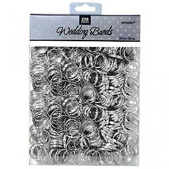 Amscan Silver Wedding Bands Table Sprinkles (288 Pieces)