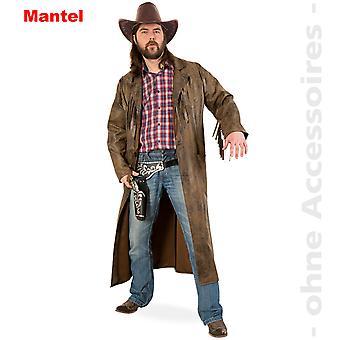 Vestlige frakke kostume Herre vilde Vesten cowboy jakke mænd kostume