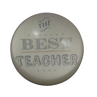 Gisela Graham The Best Teacher Paper Weight Decoration