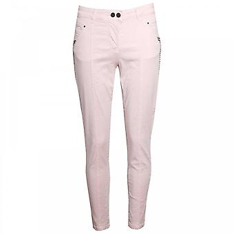 Laurie Slim Leg Cropped Fit Trousers