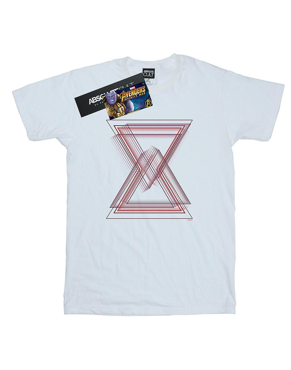 Marvel Boys Avengers Infinity War Black Widow Lines T-Shirt