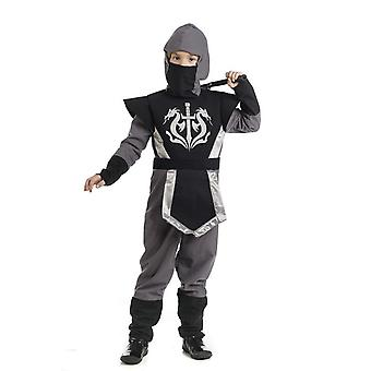 Ninja music girl costume Elf shadow fighter child costume
