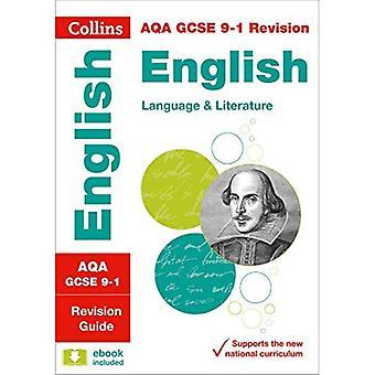 AQA GCSE engelska språket och engelsk litteratur: Revision Guide (Collins GCSE Revision och praxis - nya 2015...