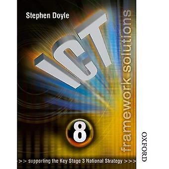 Livre an Solutions TIC cadre élèves 8: Élèves livre an 8 (Solutions de TIC S.)