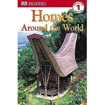 Homes Around the World (DK Reader - Level 1)