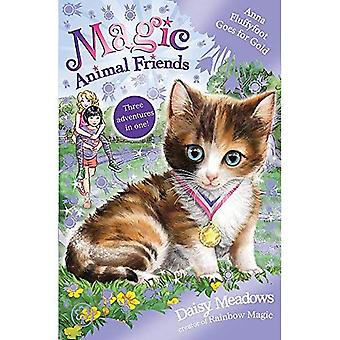 Amis Animal magiques : Anna Fluffyfoot Goes for Gold : 6 spéciales (amis animaux magiques)