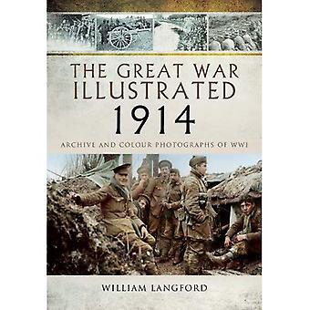 La grande guerra illustrata 1914: Archivio e fotografie della prima guerra mondiale a colori