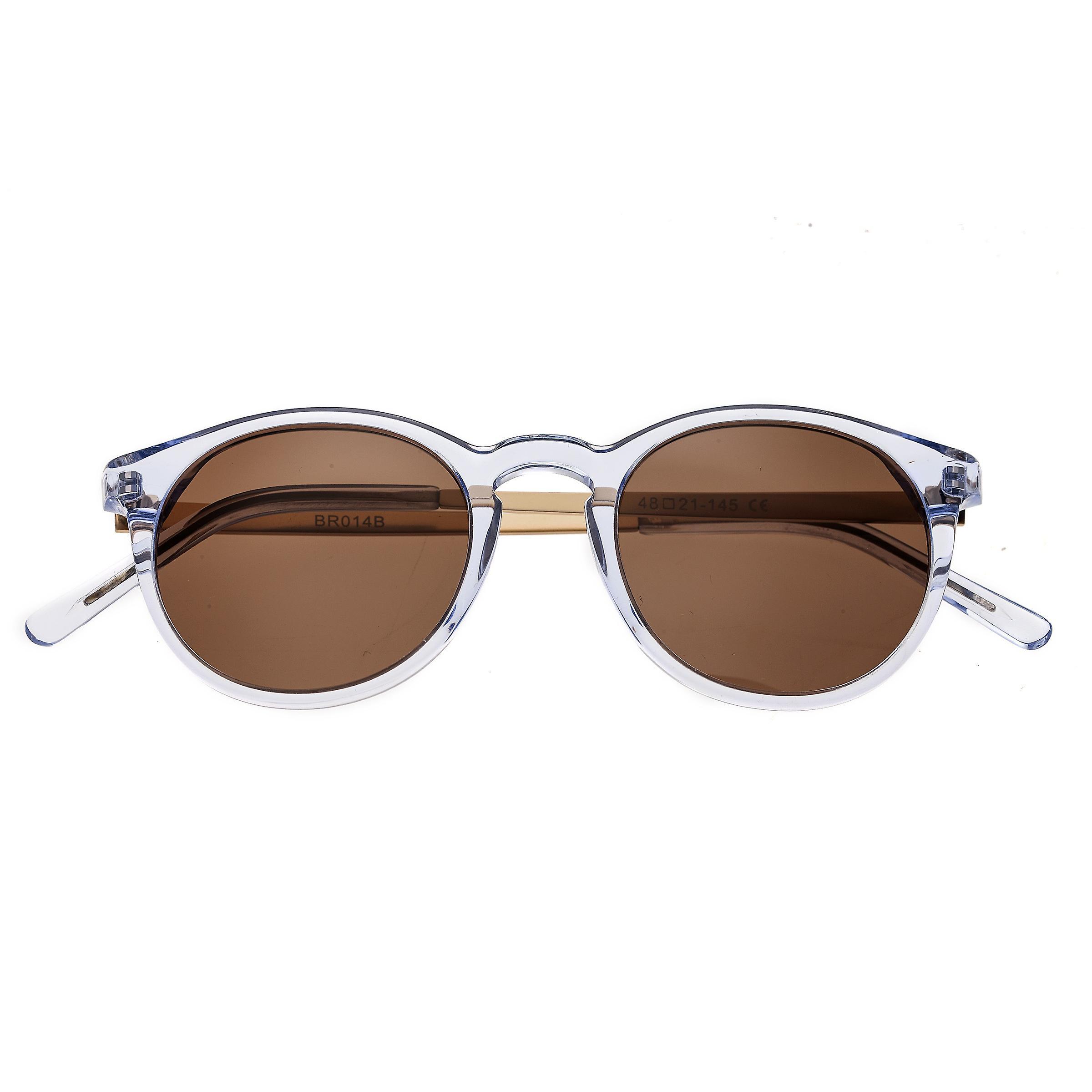 Bertha Hayley Polarized Sunglasses - Blue/Brown