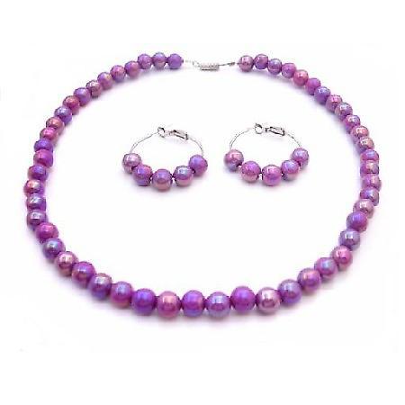Fashion Jewelry For Everyone Puprle Dress Girls Jewelry Flower Girl...