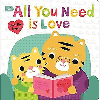 Lite vänner alla du behöver är kärlek (små vänner) [styrelse bok]