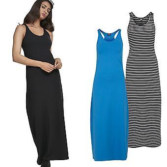 Urban classics ladies - long racer back summer dress