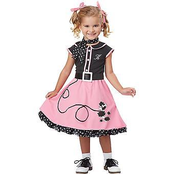 Costume enfant de 50 ' s Girl
