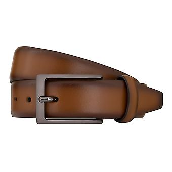 Ceintures de ceinture ceintures hommes LLOYD hommes cuir ceinture Cognac 7809
