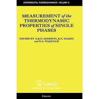 Meting van de thermodynamische eigenschappen van enkele fasen door een & R Goodwin