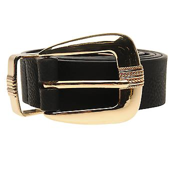 Golddigga Womens Plain Belt Ladies