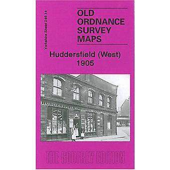 Huddersfield (West) 1905 - Yorkshire Sheet 246.14 by Edgar Holroyd-Dov