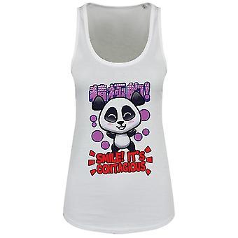 Handa Panda Ladies/Womens Smile Floaty Tank