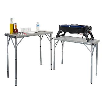 Coleman Aluminium 6 in 1 Folding Camping Table