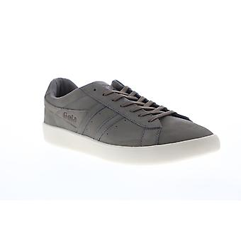 Gola Aztec Nubuck  Mens Gray Nubuck Leather Retro Lifestyle Sneakers Shoes