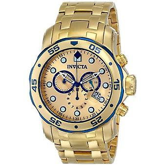 Invicta  Pro Diver 80069  Stainless Steel Chronograph  Watch