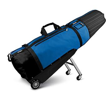 Golf Travel Covers | Sun Mountain ClubGlider Meridian Golf Travel Cover Black/Cobalt Blue