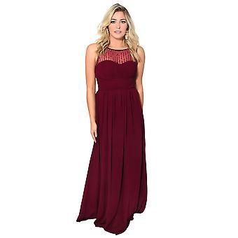 فستان بطباعة زهر باكمام جرس