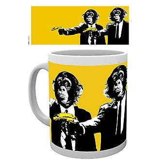 Monkey Monkeys Banana Boxed Drinking Mug