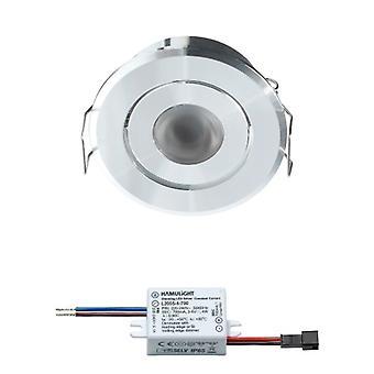 Bridgelux LED Einbaustrahler | Warmweiß | 3 Watt | dimmbar | Kippen