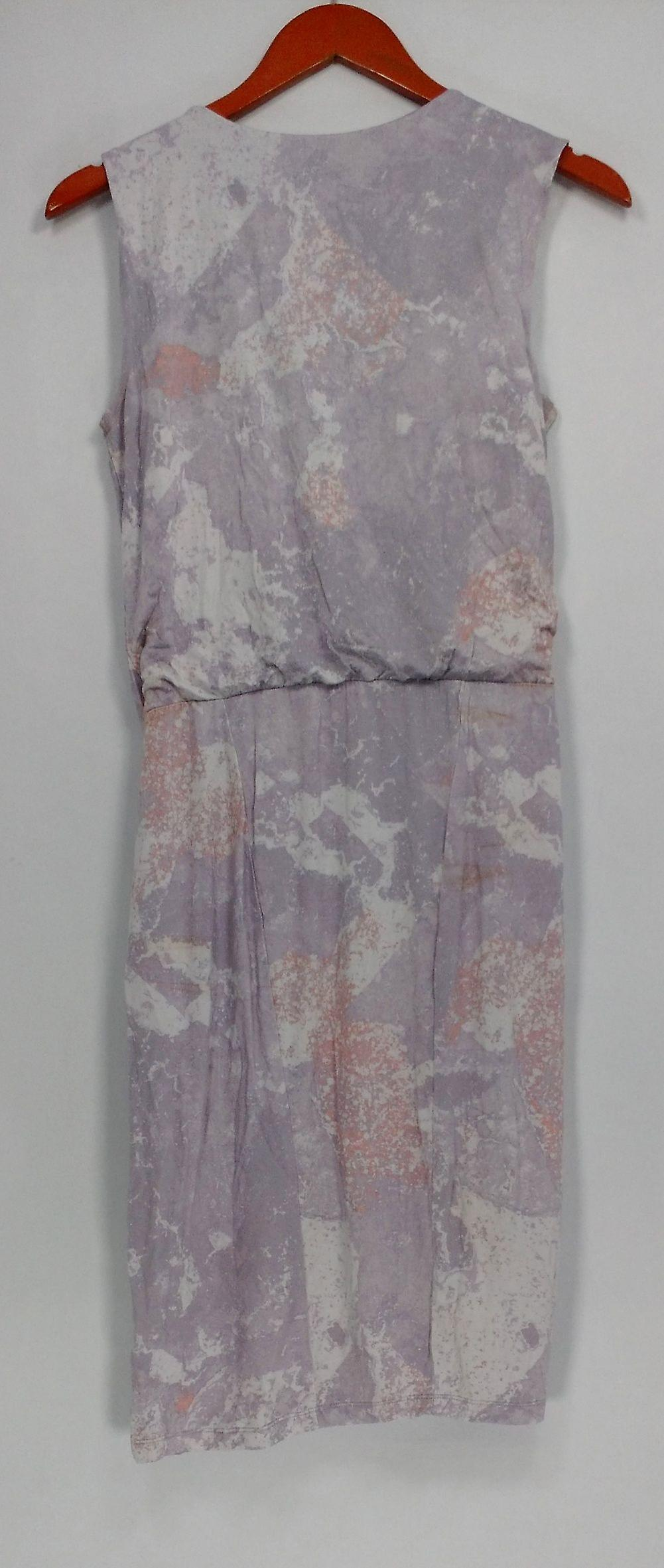 H by Halston Dress Sleeveless Drape Front Light Purple A276402 U1kSKG