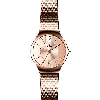 Radiant new northlady Quartz Analog Woman Watch with RA404206 Gold Plated Stainless Steel Bracelet