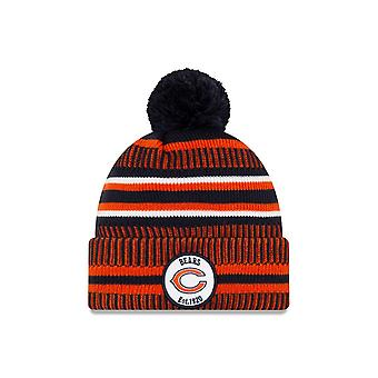 Nowa era NFL Chicago Bears 2019 Sideline Home Sport Knit