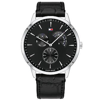 Tommy Hilfiger Brad Multifunction Cuir Hommes Montre 1710391
