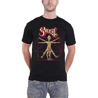 Ghost T Shirt The Popestar Tour Europe 2017 Band Logo Official Mens New Black