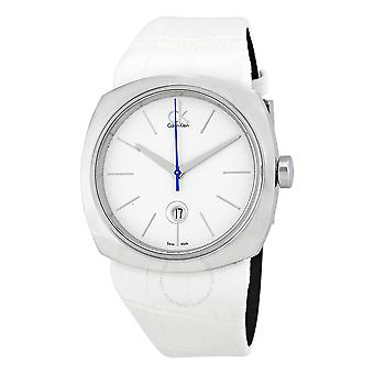 Calvin klein white Watch for Women Analog Quartz with Bracelet from Others K9721137