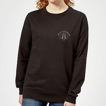 Braille Skateboarding Limited Edition Bridge Sunset Pocket Women-apos;s Sweatshirt - Noir