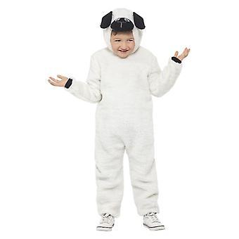 Detské ovce jahňacie maškarný kostým