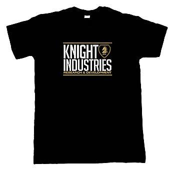 Knight Industries Knight Rider Inspired Mens T-Shirt | TV & Movie Gift Him Dad