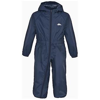 Børn Trespass knap vandtæt All-in-One Suit