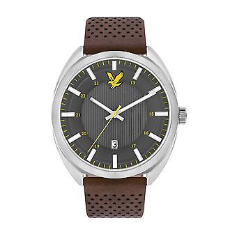 Lyle & Scott ls-6015-01 menn ' s Tevio grå dial armbåndsur