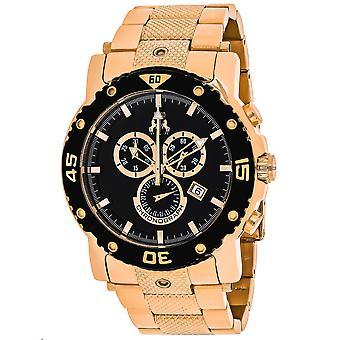 Jivago Men's Titan Black Dial Watch - JV9123XL