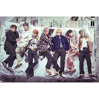 BTS groep bed poster