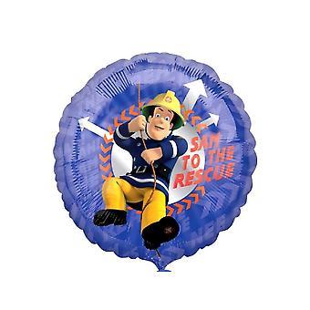 Пожарный Сэм фольги воздушный шар