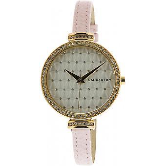 Lancaster watch watches Palace LPW00327 - watch leather pink Pale woman Palace