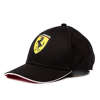 Gorra de béisbol clásico de la Scuderia Ferrari | Negro | Adultos | 2019