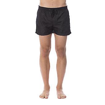 Roberto Cavalli Men's Black Swim Shorts