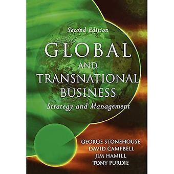 Affaires mondiales et transnationale: stratégie et Management