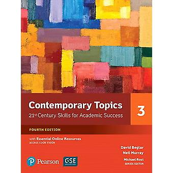 Contemporary Topics 3 with Essential Online Resources by David Beglar & Neil Murray