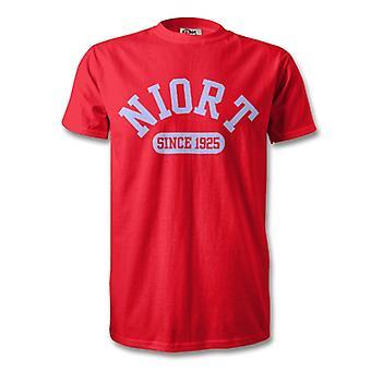 Niort 1925 gegründet Fußball Kinder T-Shirt