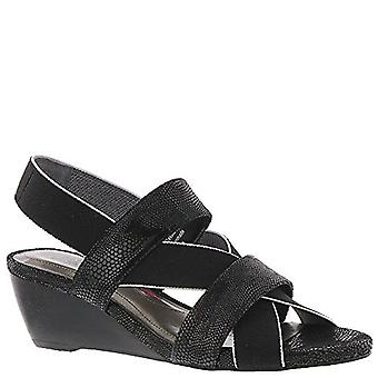 Ros Hommerson Womens Wynona Peep Toe Casual Slingback Sandals